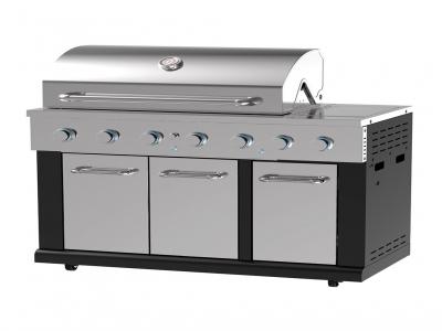 BG1795B-AL 5 Burner grill
